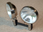 Pair of lights with bulbs