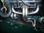 Manifold installed on Kent engine